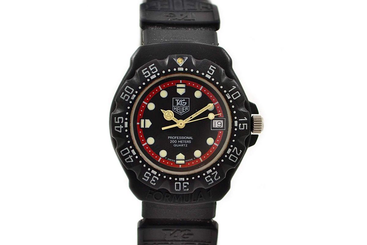 Vintage Tag Heuer F1 Series Quartz Midsize 383.513/1 Watch