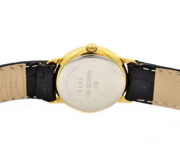 Vintage Raymond Weil Geneve 5332 Quartz Ladies Watch 1990