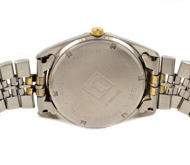 Vintage Tissot PR100 Stainless Steel Quartz Midsize Watch