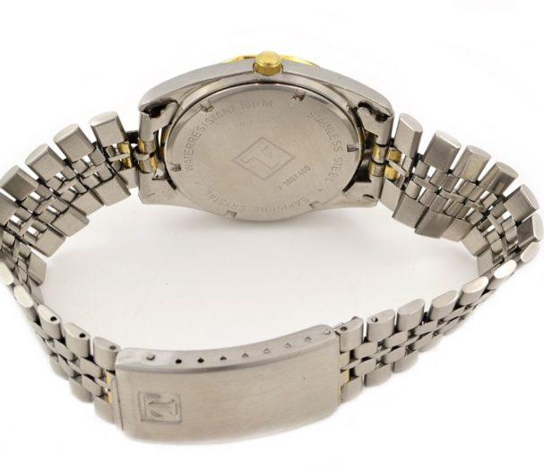 Vintage Tissot PR100 Stainless Steel Quartz Midsize Watch retro