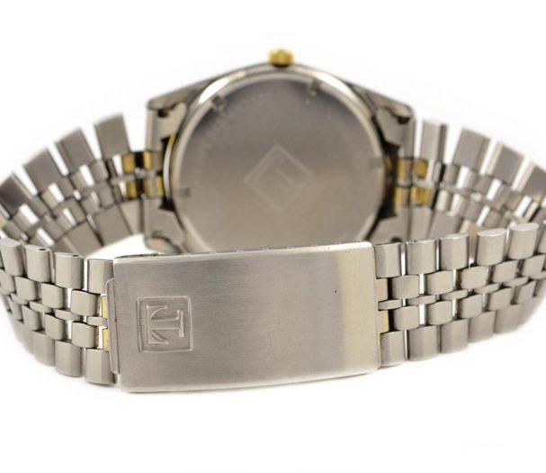 Vintage Tissot PR100 Stainless Steel Quartz Midsize Watch original