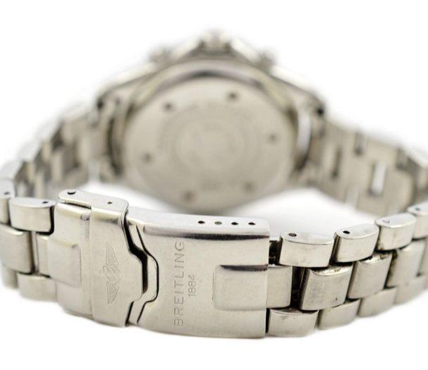 Breitling Colt Chronograph A53035 Quartz Mens Stainless Steel Watch chrono