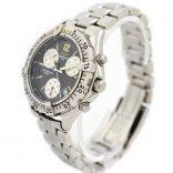Breitling Colt Chronograph A53035 Quartz Mens Stainless Steel Watch original