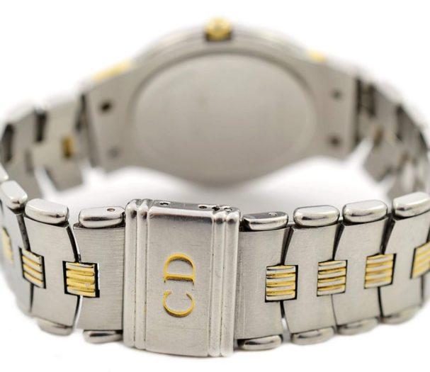Pre-Owned Christian Dior Paris Date Midsize Quartz Watch 45.146