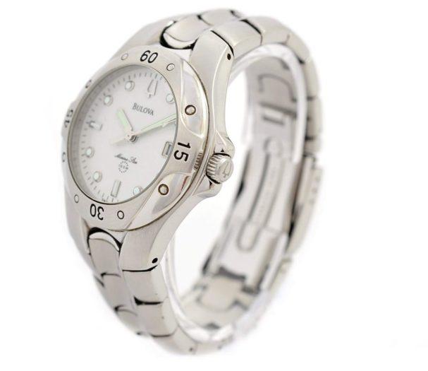 Pre-Owned Bulova Marine Star Date Quartz Men's Watch original