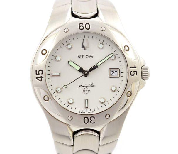 Pre-Owned Bulova Marine Star Date Quartz Men's Watch 2000