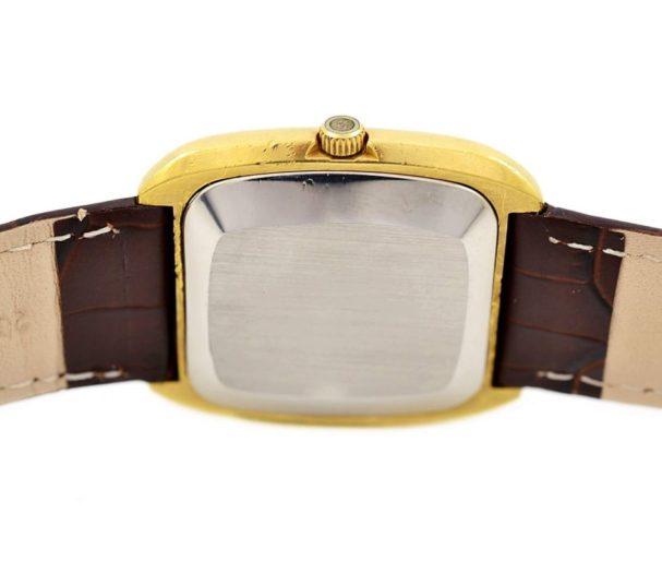 Vintage Omega De Ville Quartz Cal.1325 Gold Plated Mens Watch 1970