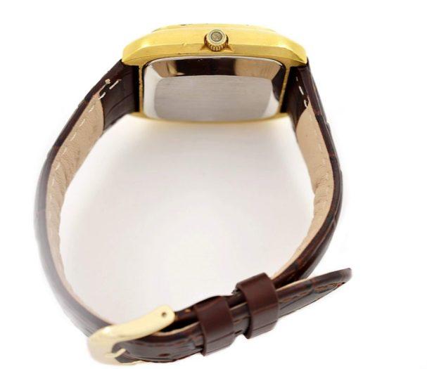 Vintage Omega De Ville Quartz Cal.1325 Gold Plated Mens Watch stainless steel
