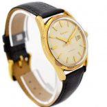 Vintage Bulova Classic Automatic Midsize Gold Plated Watch 1970