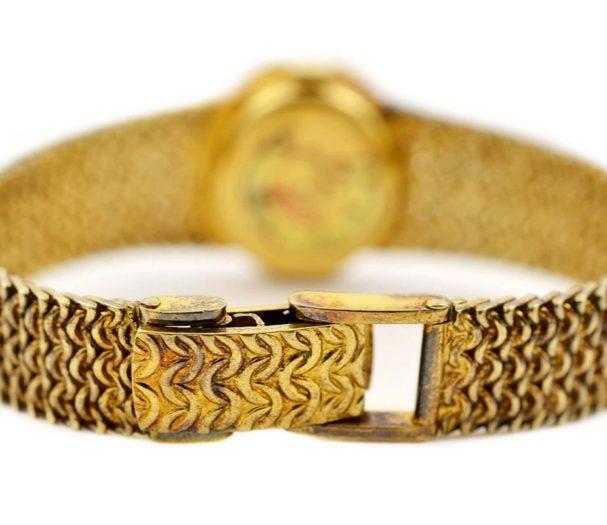 Vintage Girard Perregaux Gold Plated Hand Wind Ladies Watch