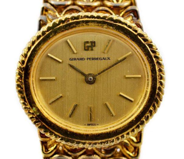 Vintage Girard Perregaux Gold Plated Hand Wind Ladies Watch swiss