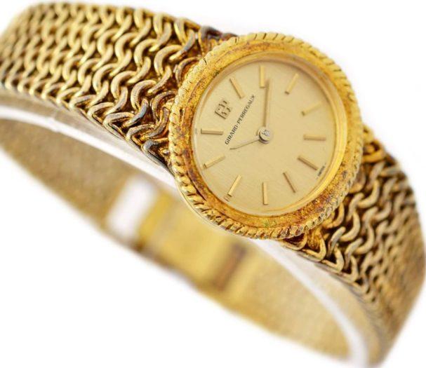 Vintage Girard Perregaux Gold Plated Hand Wind Ladies Watch 1970