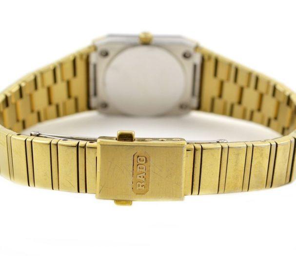 Vintage Rado Diastar Gold Plated Quartz Ladies Watch swiss