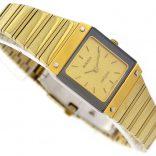 Vintage Rado Diastar Gold Plated Quartz Ladies Watch 1980