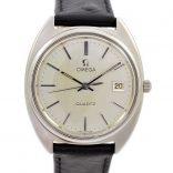 Omega Quartz Cal.1370 Quartz Stainless Steel Men's Watch 1980