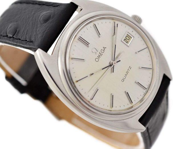 Omega Quartz Cal.1370 Quartz Stainless Steel Men's Watch swiss