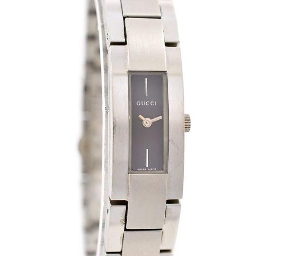 Vintage Gucci 4600L Stainless Steel Womens Quartz Watch ladies