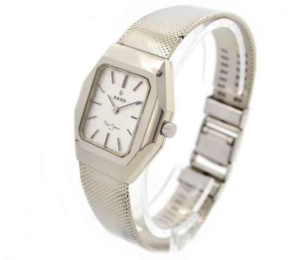 Vintage Rado Royal Elegance Stainless Steel Automatic swiss Midsize Watch