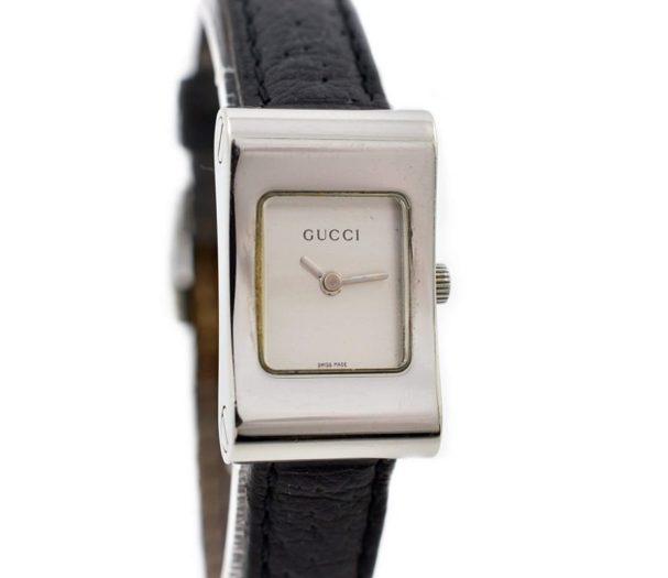 retro Vintage Gucci 2300L Stainless Steel Ladies Quartz Watch