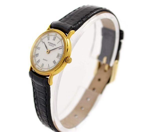 Vintage Raymond Weil Geneve 5314 Gold Plated Quartz Ladies Watch