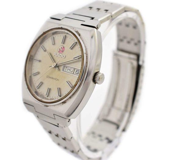 Vintage Rado Companion Stainless Steel Automatic Mens Watch original