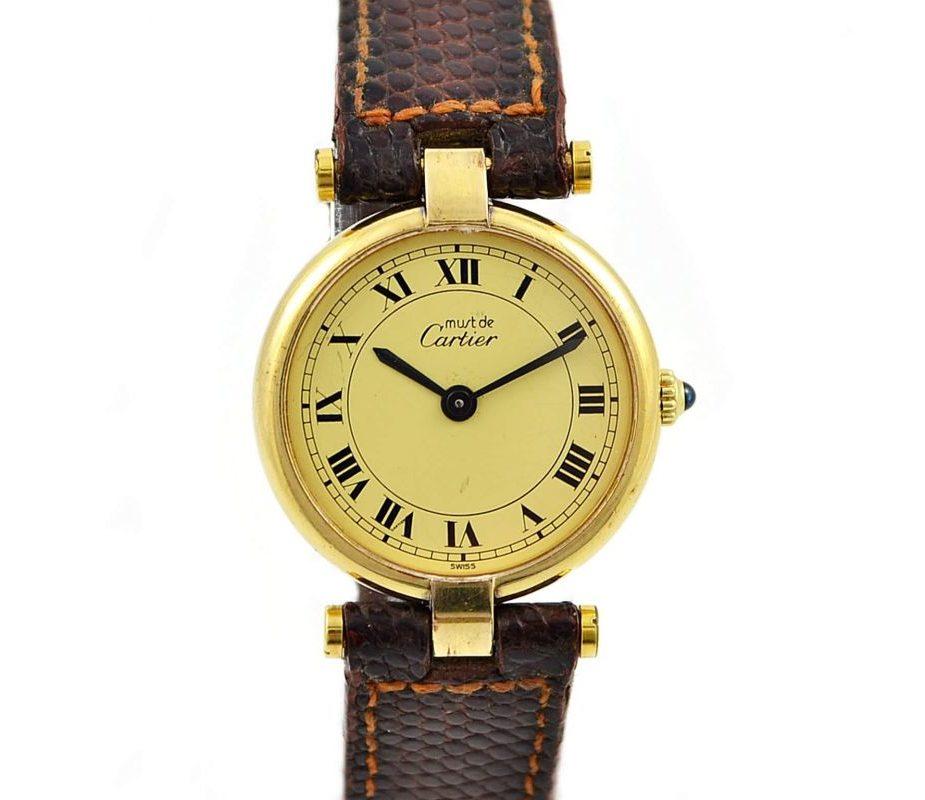 Cartier Vermeil 925 Silver Gold