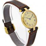 Vintage Must De Cartier Vermeil Quartz 925 Gold Plated Ladies Watch luxury