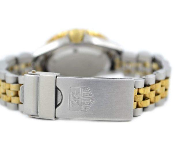 Vintage Tag Heuer 1000 Series Stainless Steel 980.018N Ladies Watch gold