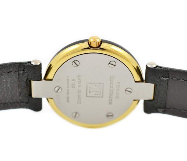 Vintage Tissot Rock Watch R150 Mother of Pearl Granite Quartz Midsize Watch steel
