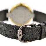 Vintage Tissot Rock Watch R150 Mother of Pearl Granite Quartz Midsize Watch leather