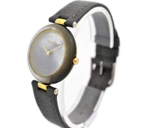 Vintage Tissot Rock Watch R150 Mother of Pearl Granite Quartz Midsize Watch original
