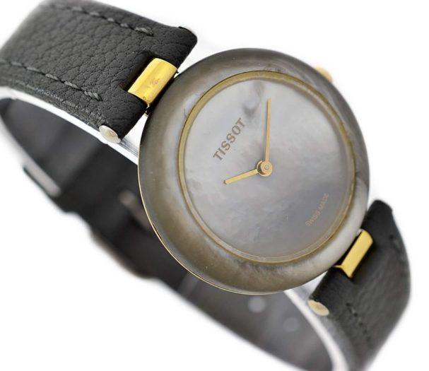 Vintage Tissot Rock Watch R150 Mother of Pearl Granite Quartz Midsize Watch mens