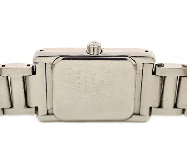 Vintage Maurice Lacroix 79745 Stainless Steel Quartz Ladies Watch vintage