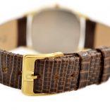 Pre-Owned Omega De Ville Longchamp Cal.1377 Quartz Midsize Watch MD 191.0199 mens