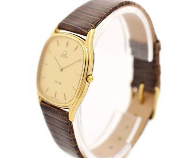 Pre-Owned Omega De Ville Longchamp Cal.1377 Quartz Midsize Watch MD 191.0199