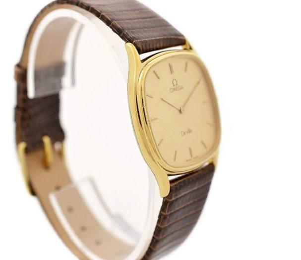 Pre-Owned Omega De Ville Longchamp Cal.1377 Quartz Midsize Watch MD 191.0199 swiss