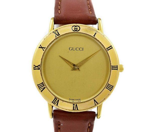 Pre-Owned Gucci Quartz Midsize Watch 3000.2.M vintage