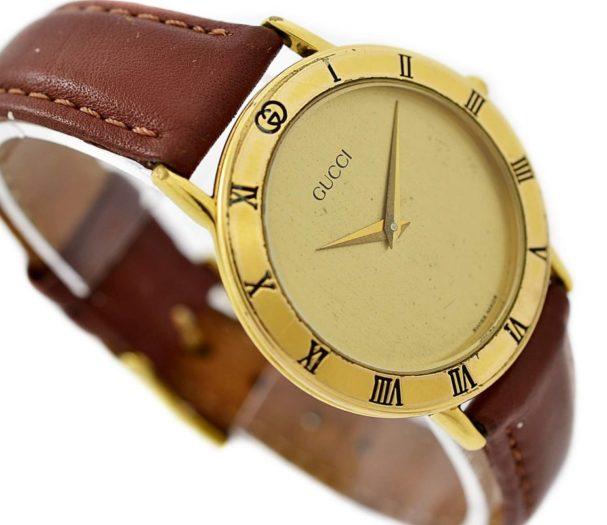 Pre-Owned Gucci Quartz Midsize Watch 3000.2.M swiss