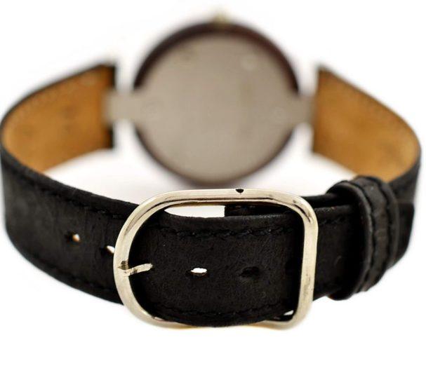 Vintage Tissot Rock Watch R150 Brown Granite Quartz Midsize Watch #957-7 leather
