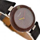 Vintage Tissot Rock Watch R150 Brown Granite Quartz Midsize Watch #957-7 ladies