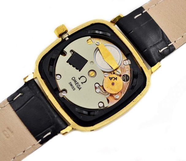 Pre-Owned Vintage Omega De Ville Cal.1280 Quartz Gold Plated Midsize Watch 191.0045 swiss