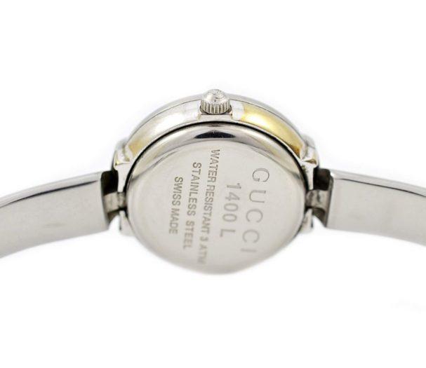Vintage Gucci 1400L Stainless Steel Ladies Quartz Watch italy