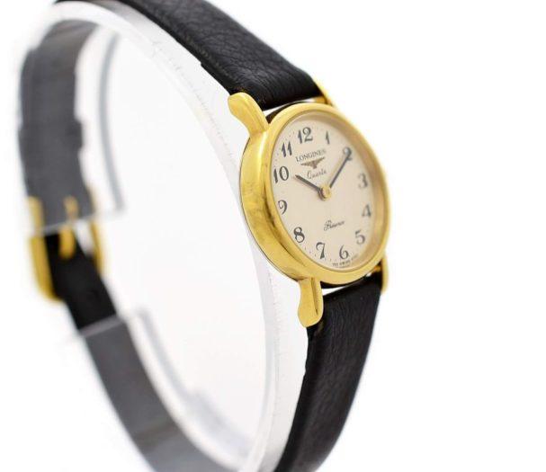 Vintage Longines Presence L.153.4 Gold Plated Ladies Quartz Watch retro