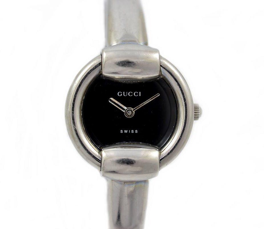 Gucci 1400L Steel Bangle