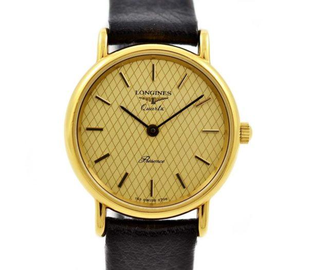 Vintage Longines Presence L.153.4 Quartz Gold Plated Ladies Watch womens