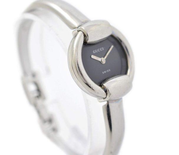 Vintage Gucci 1400L Stainless Steel Ladies Quartz Watch 1990