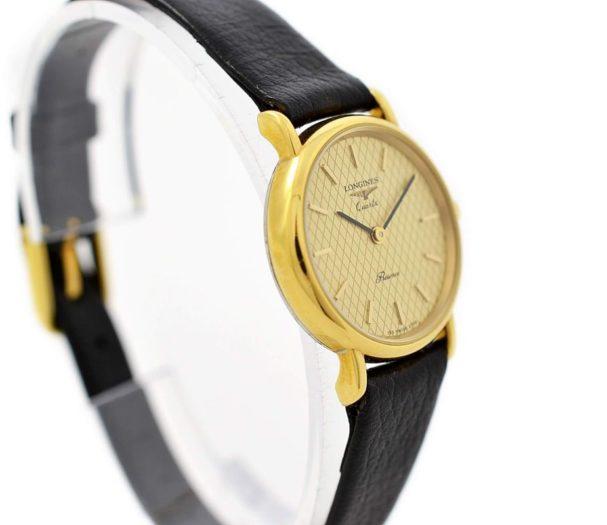 Vintage Longines Presence L.153.4 Quartz Gold Plated Ladies Watch gold