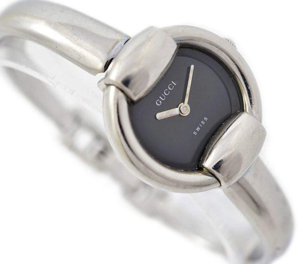 Vintage Gucci 1400L Stainless Steel Ladies Quartz Watch swiss