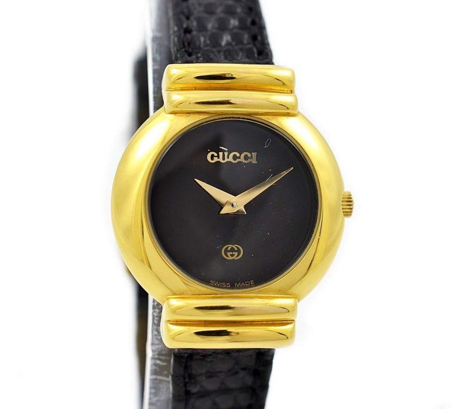Gucci 5300L Gold Quartz