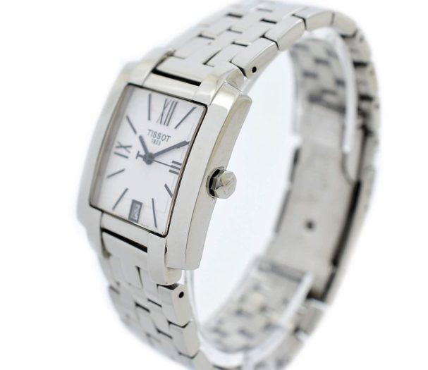 Pre-Owned Tissot 1853 T-Trend Date Quartz Men's Watch L860/960K steel